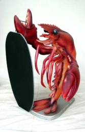 Lobster with black-board 3ft (JR 1461) - Thumbnail 01