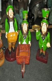Leprechaun with Wheelbarrow (JR ST5162) - Thumbnail 02