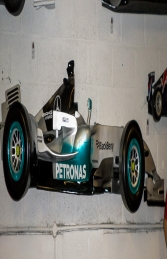 Racing Car Wall Decor - Mercedes 9ft (JR DF6332MP) - Thumbnail 02