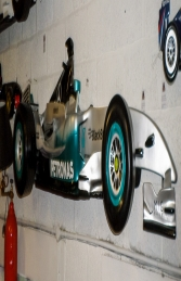 Racing Car Wall Decor - Mercedes 9ft (JR DF6332MP) - Thumbnail 03