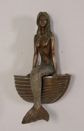 Mermaid on Boat (JR NT0020)