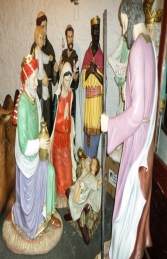Nativity 6ft - King Melchor (JR 140019) - Thumbnail 03