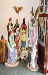 Nativity 6ft - King Gaspar ( JR 140021) - Thumbnail 03