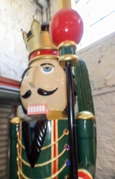 Nutcracker 12ft with Scepter (JR 130091) - Thumbnail 03