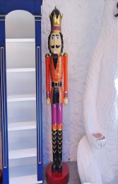 Nutcracker King 6.5ft - Orange Jacket (JR 110013O) - Thumbnail 01
