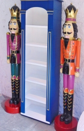 Nutcracker King 6.5ft - Orange Jacket (JR 110013O) - Thumbnail 03