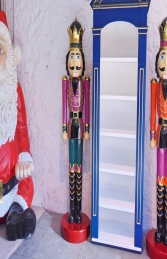 Nutcracker King 6.5ft - Purple Jacket (JR 110013P) - Thumbnail 01