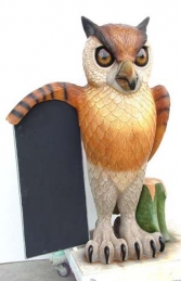 Owl with Menu-board 5ft (JR 1953)