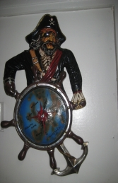 Pirate Clock (JR 2146)