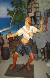 Pirate Girl 5.5ft (JR 2356) - Thumbnail 01