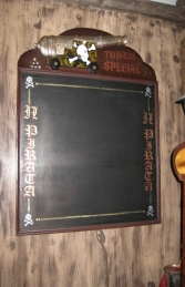 Pirate Menu Board (JR 2403)