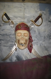 Pirate Skull Wall Decor (JR NT0017) - Thumbnail 01