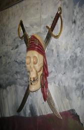 Pirate Skull Wall Decor (JR NT0017) - Thumbnail 03