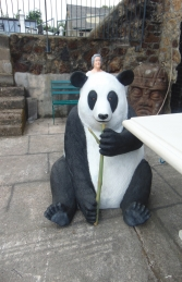 Panda Bear Bench (JR R-278) - Thumbnail 01