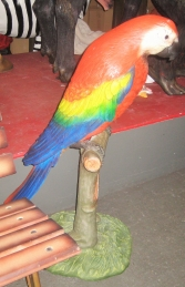 Parrot on Perch 3.5ft (JR 2341) - Thumbnail 03