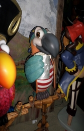 Parrot - Pirate Drinking without Stand ( JR C-074) - Thumbnail 01