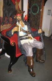 Pirate with Beer Sitting (JR 2931) - Thumbnail 01