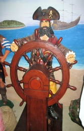 Pirate with Wheel 6ft (JR 030714) - Thumbnail 02