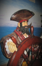 Pirate with Wheel 6ft (JR 030714) - Thumbnail 03