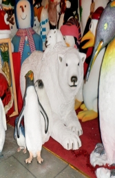 Polar Bear with cub (JR 160060) - Thumbnail 03