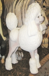 Poodle Dog - White (JR 2985)