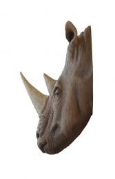 RHINO HEAD (WALL MOUNTED) - JR R-031 - Thumbnail 02