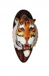 TIGER HEAD WALL MOUNTED - JR R-089 - Thumbnail 01