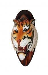 TIGER HEAD WALL MOUNTED - JR R-089 - Thumbnail 02