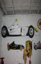 Racing Car Wall Decor - Brawn 9ft (JR DF6332B) - Thumbnail 03