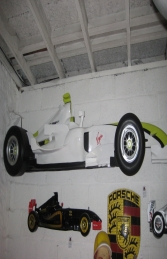 Racing Car Wall Decor - Brawn 9ft (JR DF6332B) - Thumbnail 01