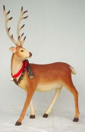 Reindeer with Long horns life-size model (JR 1558) - Thumbnail 03