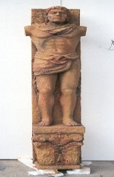 Pillar - Roman Figure Column Male 5ft (JR 1757)
