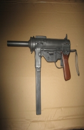 Replica M3A1 Grease Gun with 30 Round Mag (JR RR006) - Thumbnail 01