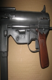 Replica M3A1 Grease Gun with 30 Round Mag (JR RR006) - Thumbnail 02