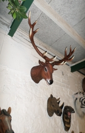 Red Deer Head Stag (JR 130095) - Thumbnail 01
