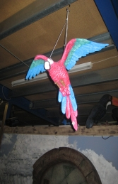 Parrot Flying - Red (JR R-035) - Thumbnail 01