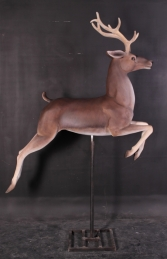 Flying Reindeer with Long-horns (JR 120067) - Thumbnail 01