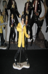 Elvis style Singer with Guitar 3ft (JR 1541) - Thumbnail 03