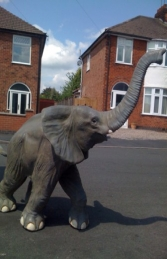 Elephant Baby Running (JR 090026) - Thumbnail 01