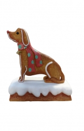 Ginger Bread Dog (JR S-075)