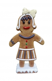 Mini Ginger Bread Mama (JR S-094) - Thumbnail 01