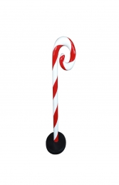 MINI CANDY CANE SWIRL WITH BASE - JR S-103