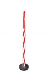 MINI CANDY CANE WITH BASE - JR S-115 - Thumbnail 02
