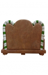Gingerbread Bench (JR S-130) - Thumbnail 03