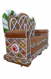 Gingerbread Bench (JR S-130) - Thumbnail 01