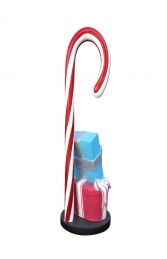 CANDY CANE WITH GIFT BOXES BASE - JR S-181 - Thumbnail 03