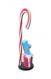 CANDY CANE WITH GIFT BOXES BASE - JR S-181 - Thumbnail 02