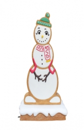 GINGERBREAD SNOW WOMAN JR S-199