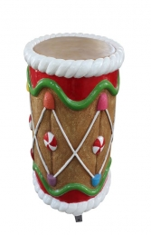 GINGERBREAD DRUM - JR S-210