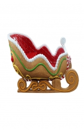 GINGERBREAD SLEIGH (KB) JR S-221 - Thumbnail 02